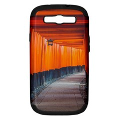 Architecture Art Bright Color Samsung Galaxy S Iii Hardshell Case (pc+silicone)