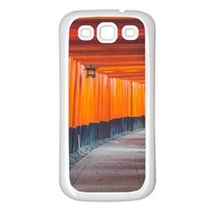 Architecture Art Bright Color Samsung Galaxy S3 Back Case (white)