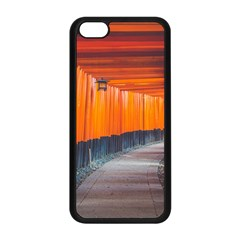 Architecture Art Bright Color Apple iPhone 5C Seamless Case (Black)