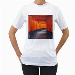 Architecture Art Bright Color Women s T Shirt (white)