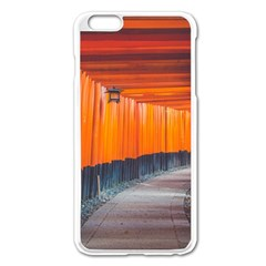 Architecture Art Bright Color Apple Iphone 6 Plus/6s Plus Enamel White Case