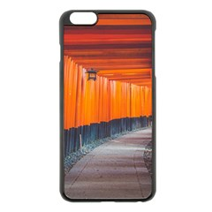 Architecture Art Bright Color Apple Iphone 6 Plus/6s Plus Black Enamel Case