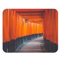 Architecture Art Bright Color Double Sided Flano Blanket (large)
