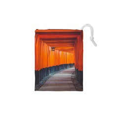 Architecture Art Bright Color Drawstring Pouches (xs)