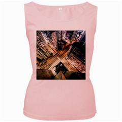 Architecture Buildings City Women s Pink Tank Top