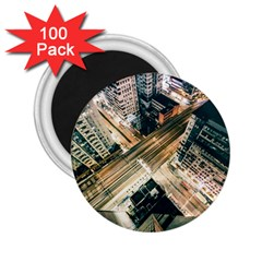 Architecture Buildings City 2 25  Magnets (100 Pack)