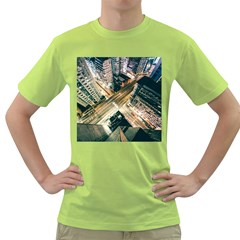 Architecture Buildings City Green T-Shirt