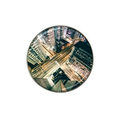 Architecture Buildings City Hat Clip Ball Marker (10 Pack)