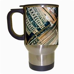 Architecture Buildings City Travel Mugs (white)