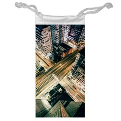 Architecture Buildings City Jewelry Bag