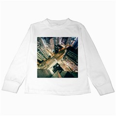 Architecture Buildings City Kids Long Sleeve T Shirts