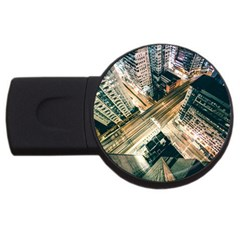 Architecture Buildings City Usb Flash Drive Round (4 Gb)