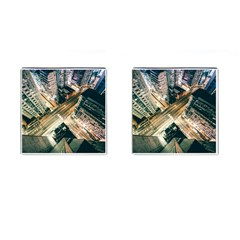 Architecture Buildings City Cufflinks (Square)