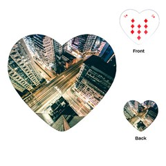 Architecture Buildings City Playing Cards (heart)