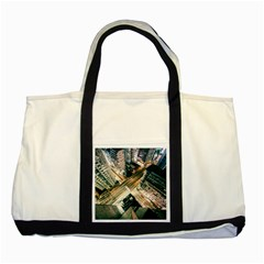 Architecture Buildings City Two Tone Tote Bag