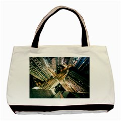 Architecture Buildings City Basic Tote Bag (two Sides)