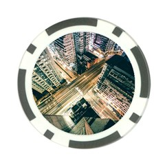 Architecture Buildings City Poker Chip Card Guards (10 Pack)