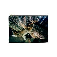 Architecture Buildings City Cosmetic Bag (medium)