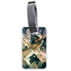 Architecture Buildings City Luggage Tags (one Side)