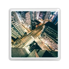 Architecture Buildings City Memory Card Reader (square)