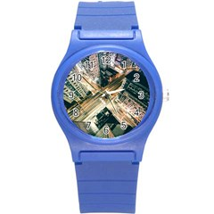 Architecture Buildings City Round Plastic Sport Watch (s)