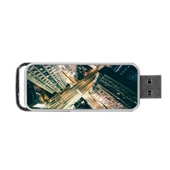 Architecture Buildings City Portable Usb Flash (one Side)