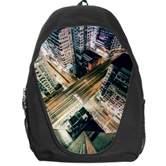 Architecture Buildings City Backpack Bag