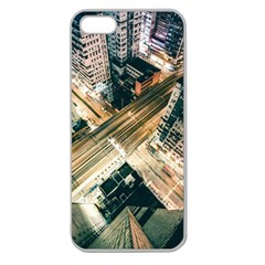 Architecture Buildings City Apple Seamless Iphone 5 Case (clear)