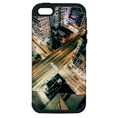 Architecture Buildings City Apple Iphone 5 Hardshell Case (pc+silicone)