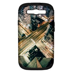 Architecture Buildings City Samsung Galaxy S Iii Hardshell Case (pc+silicone)