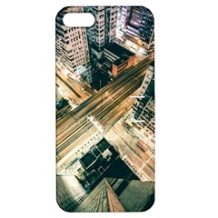 Architecture Buildings City Apple Iphone 5 Hardshell Case With Stand