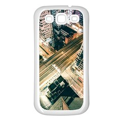 Architecture Buildings City Samsung Galaxy S3 Back Case (white)