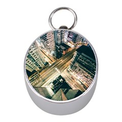 Architecture Buildings City Mini Silver Compasses