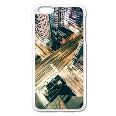 Architecture Buildings City Apple Iphone 6 Plus/6s Plus Enamel White Case