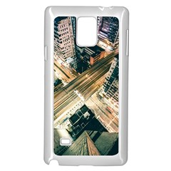 Architecture Buildings City Samsung Galaxy Note 4 Case (white)