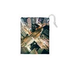 Architecture Buildings City Drawstring Pouches (xs)