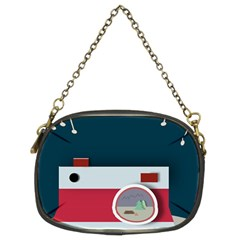 Camera Vector Illustration Chain Purses (two Sides)