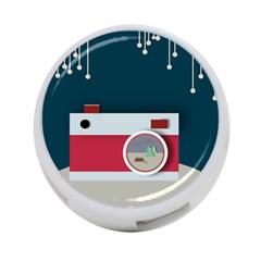Camera Vector Illustration 4 Port Usb Hub (one Side)