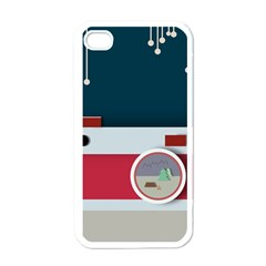 Camera Vector Illustration Apple Iphone 4 Case (white)