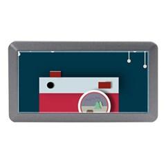 Camera Vector Illustration Memory Card Reader (mini)