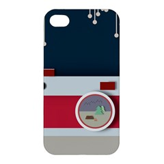 Camera Vector Illustration Apple Iphone 4/4s Premium Hardshell Case