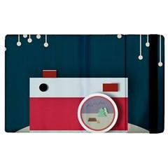 Camera Vector Illustration Apple Ipad 3/4 Flip Case