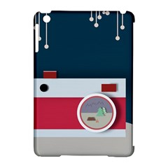 Camera Vector Illustration Apple Ipad Mini Hardshell Case (compatible With Smart Cover)
