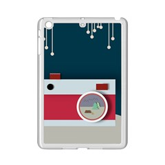 Camera Vector Illustration Ipad Mini 2 Enamel Coated Cases