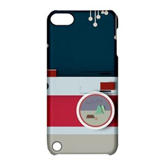 Camera Vector Illustration Apple Ipod Touch 5 Hardshell Case With Stand