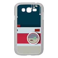 Camera Vector Illustration Samsung Galaxy Grand Duos I9082 Case (white)