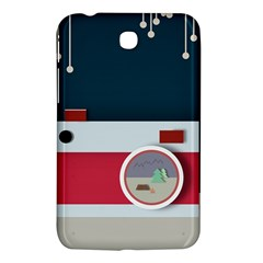 Camera Vector Illustration Samsung Galaxy Tab 3 (7 ) P3200 Hardshell Case