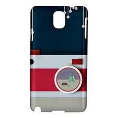 Camera Vector Illustration Samsung Galaxy Note 3 N9005 Hardshell Case