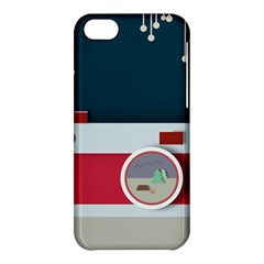 Camera Vector Illustration Apple Iphone 5c Hardshell Case
