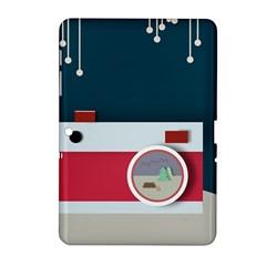 Camera Vector Illustration Samsung Galaxy Tab 2 (10.1 ) P5100 Hardshell Case